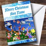 Disney Characters Customised Christmas Card
