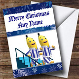 Bananas In Pyjamas Customised Christmas Card
