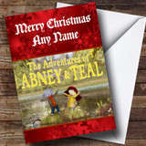 Abney And Teal Customised Christmas Card