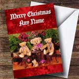Teddy Bears Picnic Customised Christmas Card