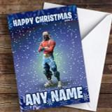 Yuletide Ranger Fortnite Customised Children's Christmas Card