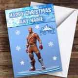 Fortnite Merry Marauder Customised Children's Christmas Card