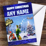 Fortnite Battle Royale Customised Children's Christmas Card