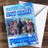 Fortnite Battle Pass Customised Children's Christmas Card