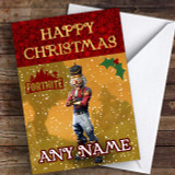 Fortnite Crackshot Customised Children's Christmas Card