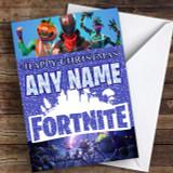 Fortnite Game Customised Children's Christmas Card