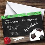 PE Teacher Customised Christmas Card
