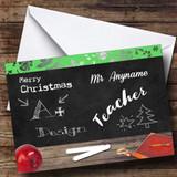 Design Teacher Customised Christmas Card
