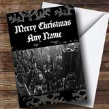 New York America Customised Christmas Card