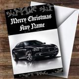 Maserati Quattroporte Customised Christmas Card