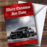 Maserati Granturismo Customised Christmas Card