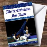 Judo Customised Christmas Card