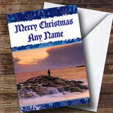Fishing Customised Christmas Card
