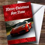 Ferrari Customised Christmas Card