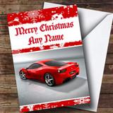 Ferrari Italia Customised Christmas Card