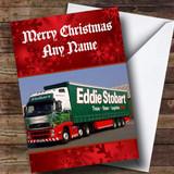 Eddie Stobart Lorry Customised Christmas Card