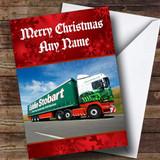 Eddie Stobart Customised Christmas Card