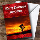 Cycling / Bike Customised Christmas Card