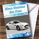 Aston Martin Vantage Customised Christmas Card