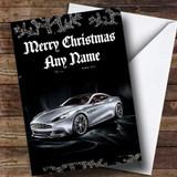 Aston Martin Vanquish Customised Christmas Card