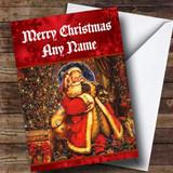 Father Christmas Traditional Customised Christmas Card