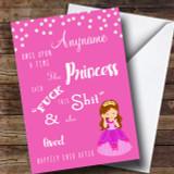 Princess Divorce / Break Up Customised Card