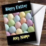 Pastel Eggs Customised Easter Card