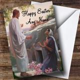 Jesus Christian Customised Easter Card