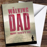 The Walking Dad Customised Father's Day Card