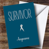 Cancer Survivor Customised Card