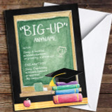 Classic Chalk Board Big-Up Dictionary Definition Customised Graduation Card