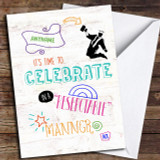 Funny Respectable Celebrate Beer Customised Graduation Card
