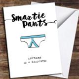 Smartie Pants Customised Graduation Card
