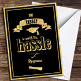 Tassle Hassle Sparkle Customised Graduation Card