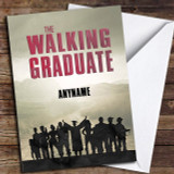 The Walking Dead Funny Cast Customised Graduation Card