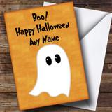 Ghost Customised Halloween Card
