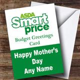 Funny Joke Asda Smart Price Spoof Customised Mother's Day Card