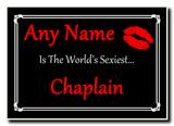 Chaplain World's Sexiest Jumbo Magnet