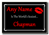 Chapman World's Sexiest Jumbo Magnet