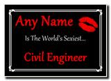 Civil Engineer World's Sexiest Jumbo Magnet