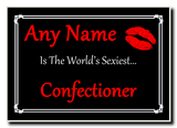 Confectioner World's Sexiest Jumbo Magnet