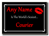 Courier World's Sexiest Jumbo Magnet