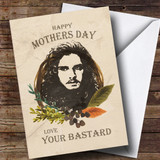 Customised Game Of Thrones Jon Snow Mothers Day Card
