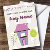 House & Bunting New Home Customised Card