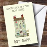 Green House New Home Customised Card