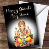 Black Lord Ganesh Customised Diwali Card