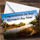 River Customised Retirement Card