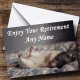 Mouse Customised Retirement Card