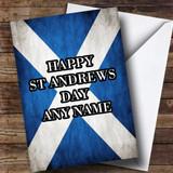 Scottish Flag Customised St Andrews Day