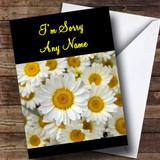 Daisy Customised Sorry Card